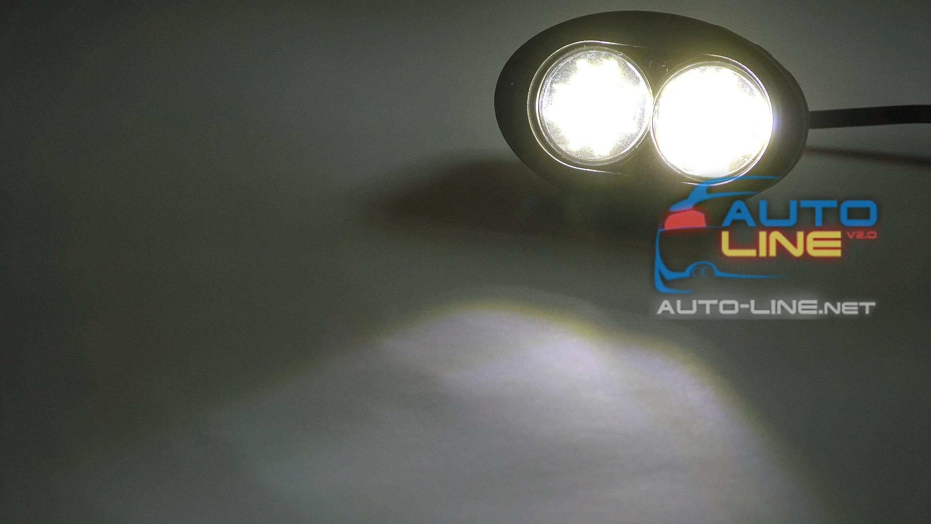 Тест AllLight 54T-20W 2 chip CREE 9-30V
