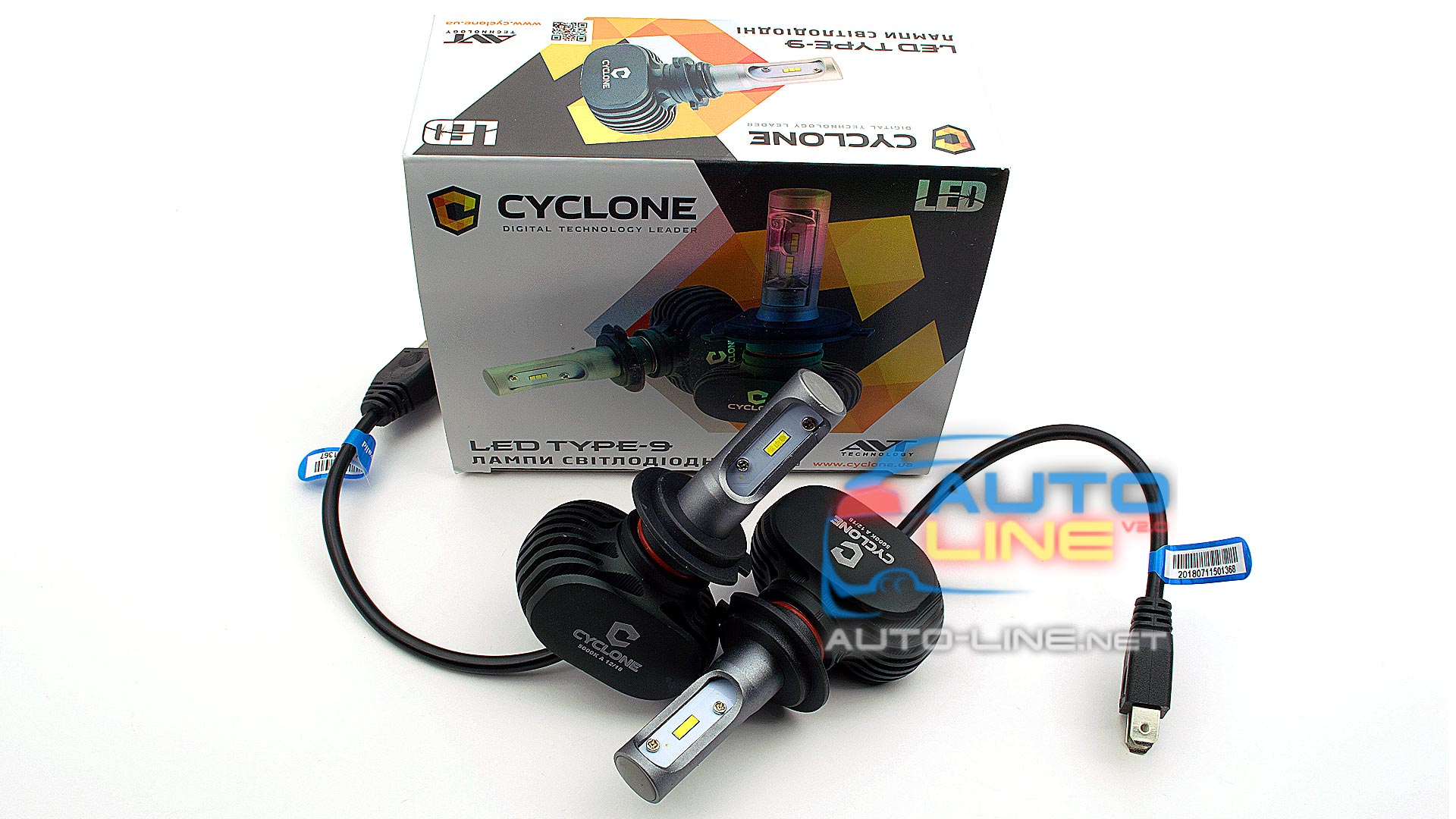 Презентация 1 - Cyclone LED H7 5000K 4000Lm type 9A