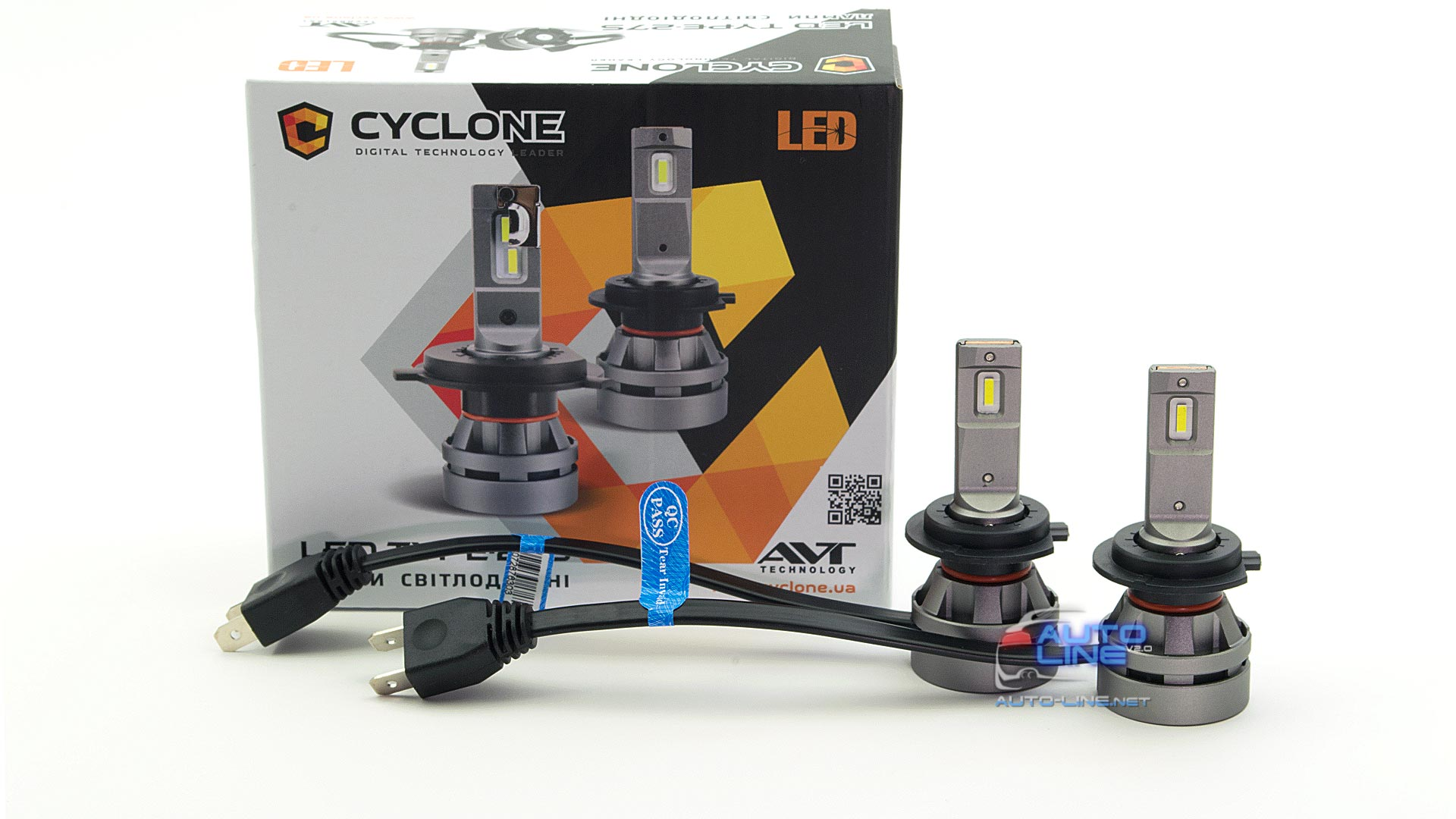 Фото 1 - Cyclone LED H7 5000K 5100Lm CR type 27S
