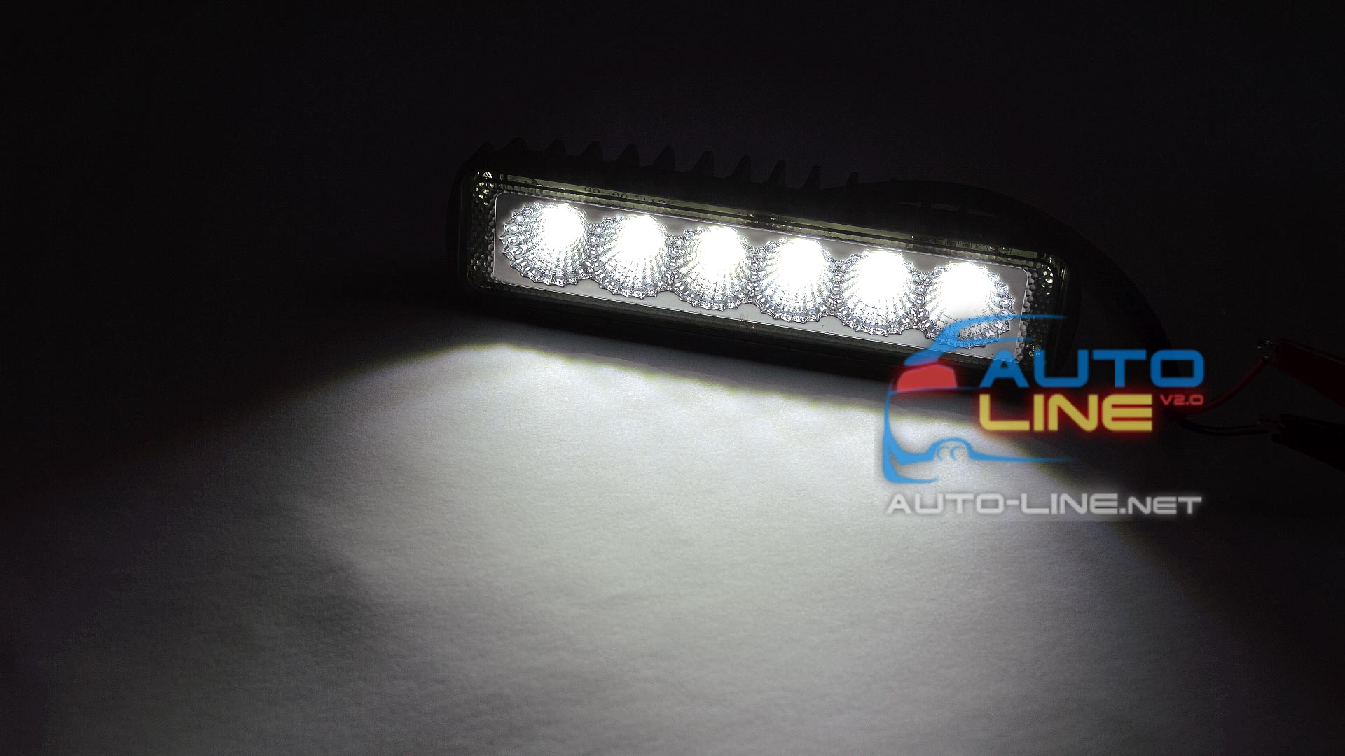 Презентация 2 - AllLight 07T-18W (Flood) 6 chip EPISTAR 9-30V