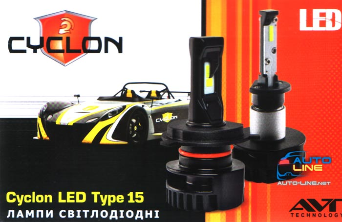 Презентация Cyclon Led Type 15