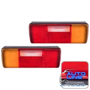 Фонарь задний CD-64909-L/R 115LED/24V/335mm*120mm (CD-64909-L/R)