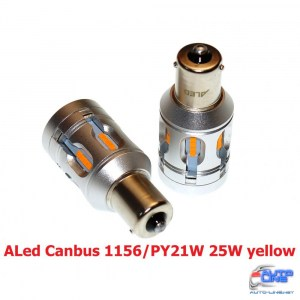 Габарит LED ALed Canbus 1156/PY21W 25W yellow (2шт)