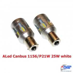 Габарит LED ALed Canbus 1156/P21W 25W white (2шт)