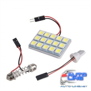 Лампа PULSO/софитная-матрица/LED/15 SMD-5050/12v3w/00x00mm/White (LP-85015)