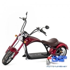 Электроскутер Chopper 1500W, 60V12Ah, Red (r804-m1/1500Rd)