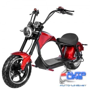 Электроскутер Chopper 3000W, 60V20Ah, Red (r804-m3/3000Rd)