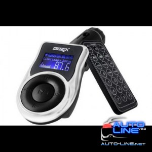 FM-трансмиттер Grand-X CUFM77GRX, AUX, USB 0.5A, SD card, 3.5mm mini-jack (CUFM77GRX)