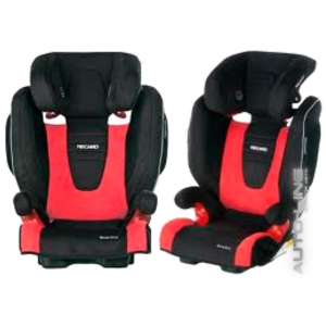 Детское автокресло Recaro Monza SeatFix Bellini Cherry/Black
