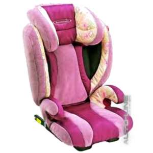 Детское автокресло STM Ipai SeatFix FreeStyle Pink-Flower