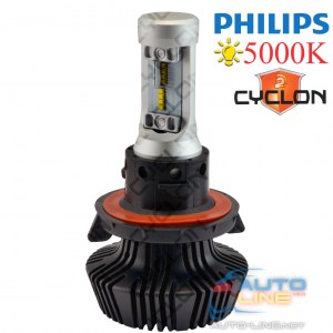 Cyclon LED H13 Hi/Low 5000K 4000Lm PH type 2 — светодиодные лампы H13, 5000K, на чипах PHILIPS ZES LED