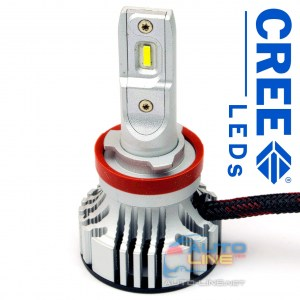 Cyclone LED H11 5000K 6000Lm CR type 29 v2 — LED-лампы H11, 5000K/6000Lm, CREE LEDs