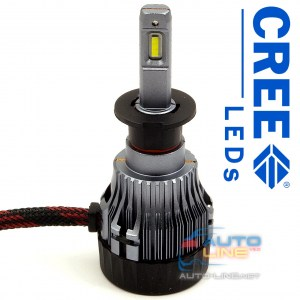 Cyclone LED H3 5000K 5000Lm CR type 19 — LED-лампы H3, 5000K/5000Lm, CREE LEDs