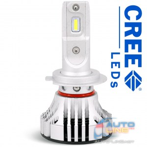 Cyclone LED H7 5000K 6000Lm CR type 29 — LED-лампы H7, 5000K/6000Lm, CREE LEDs
