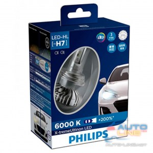 PHILIPS 12985BWX2 H7 X-tremeUltinon +200 - LED-лампы H7